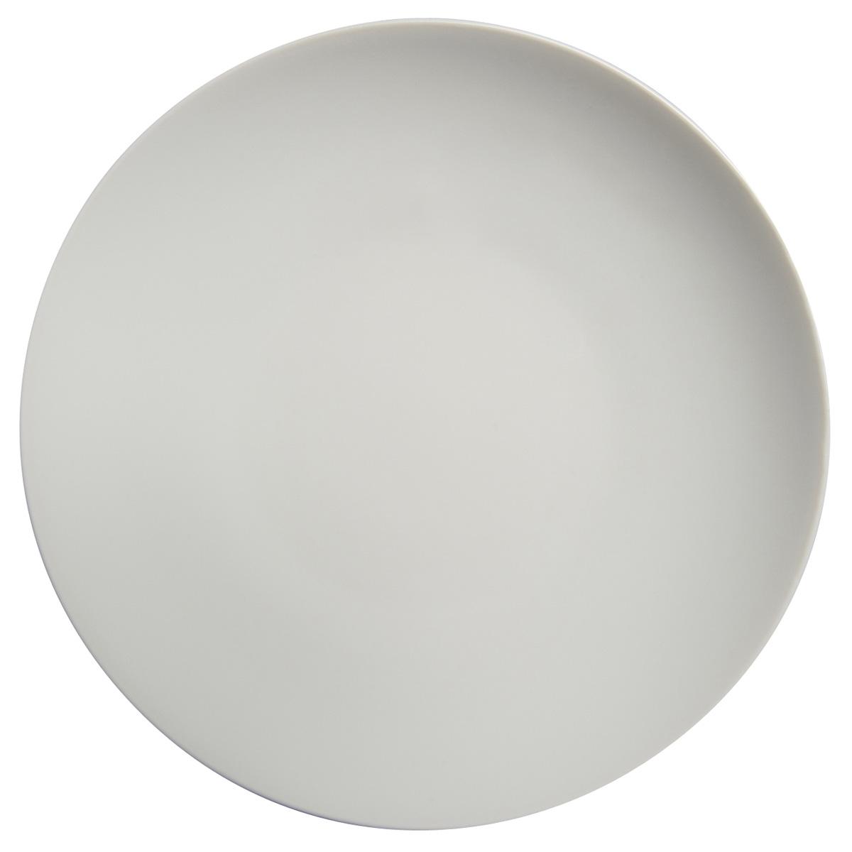 modulo blanc assiette plate ronde 26 cm les assiettes la table parisienne. Black Bedroom Furniture Sets. Home Design Ideas