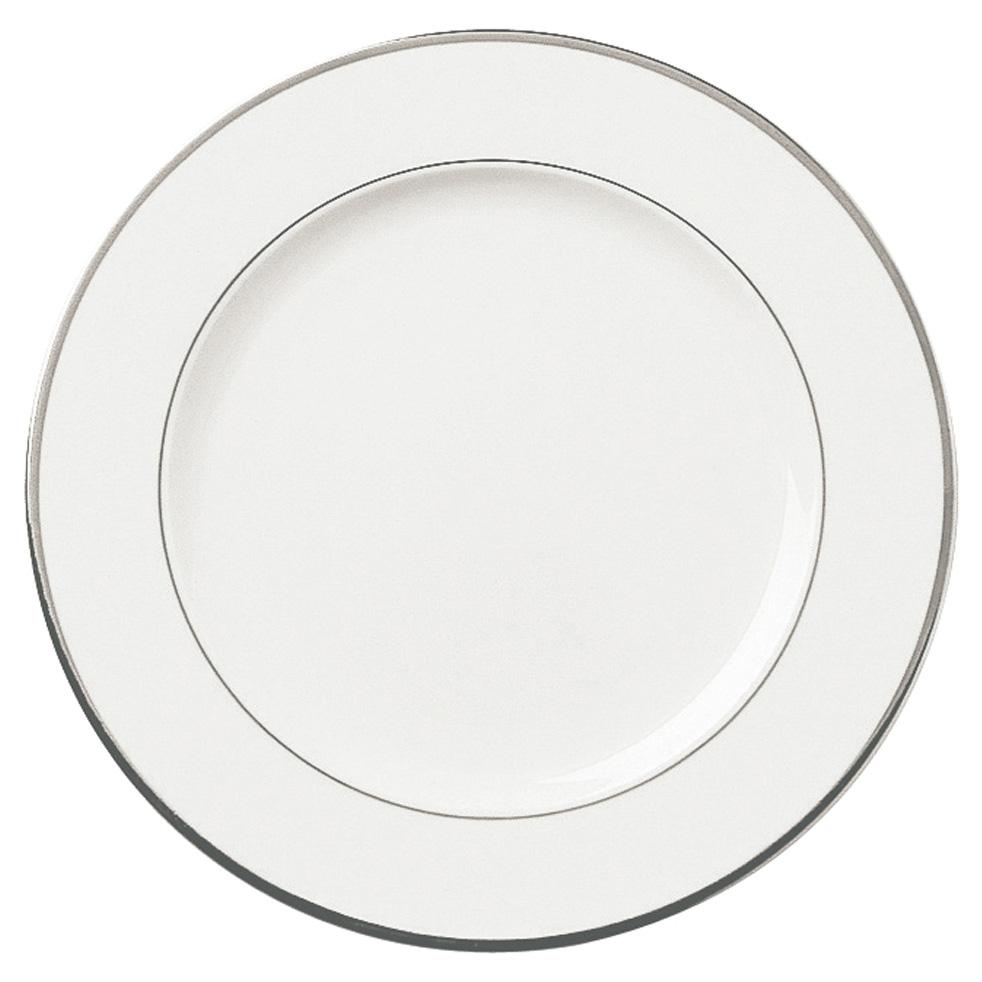Galon platine assiette a dessert ronde 21 5 cm les for La table a dessert