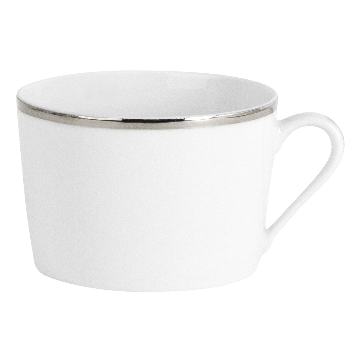 Galon platine soucoupe a the ronde 15 cm les tasses - La table parisienne angouleme ...