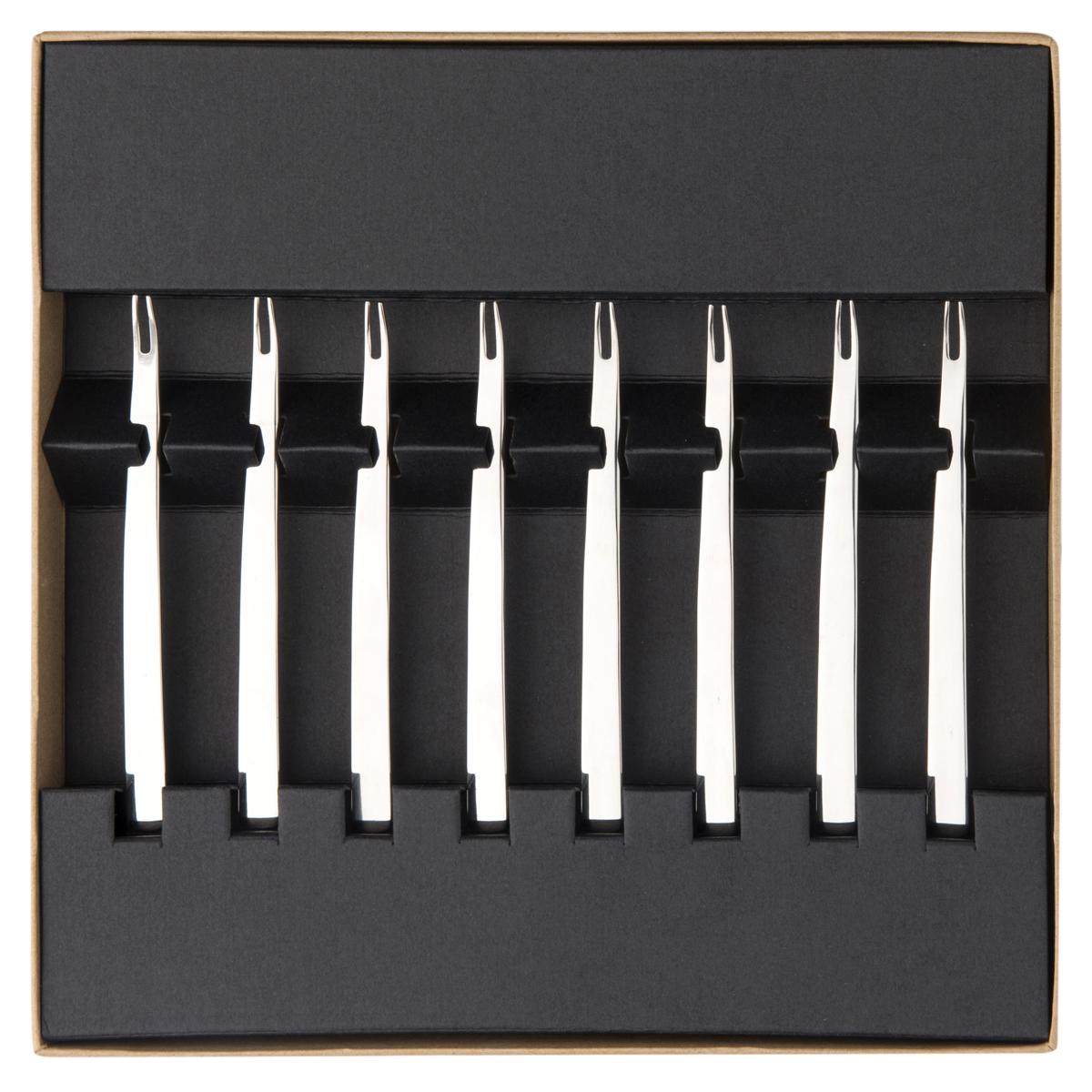modulo miroir coffret 6 curettes a crustaces couverts de table la table parisienne. Black Bedroom Furniture Sets. Home Design Ideas