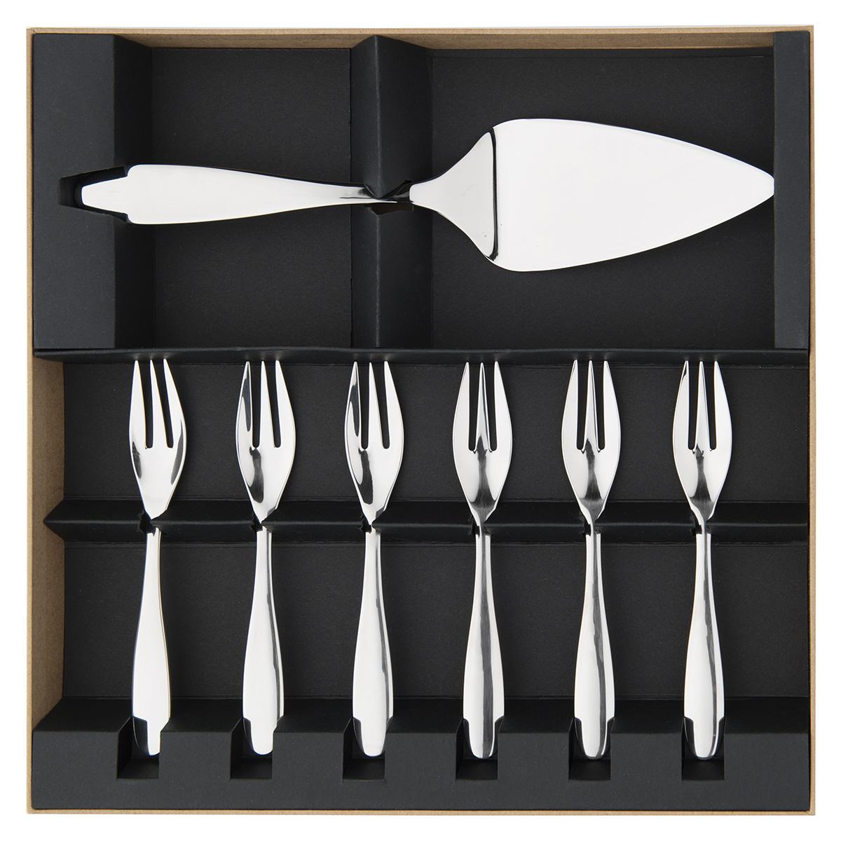 astree cisele miroir coffret service a gateaux couverts de table la table parisienne. Black Bedroom Furniture Sets. Home Design Ideas