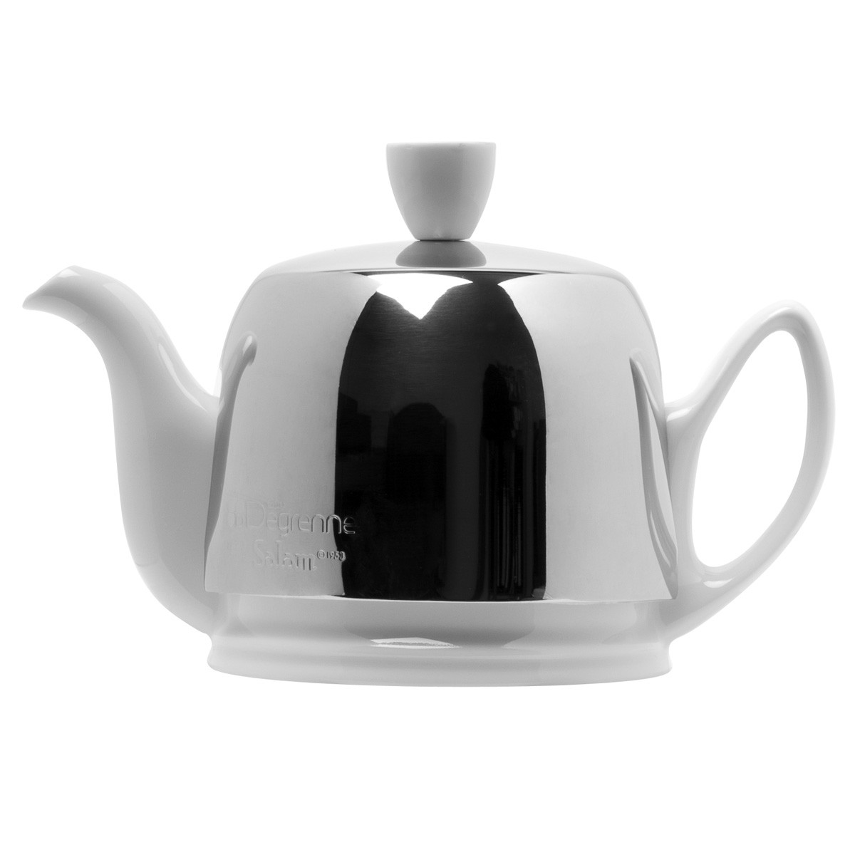Salam blanc theiere 4 tasses feutre noir cloche - La table parisienne angouleme ...