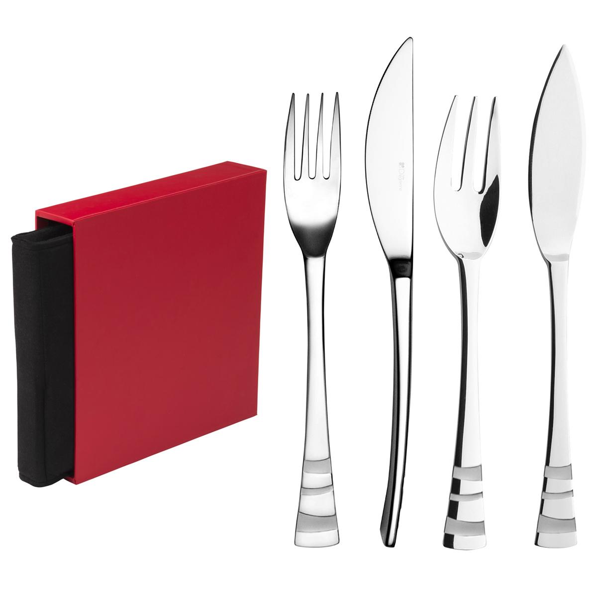 guest star miroir module 24 pieces entree poisson anthologie m nag res la table parisienne. Black Bedroom Furniture Sets. Home Design Ideas